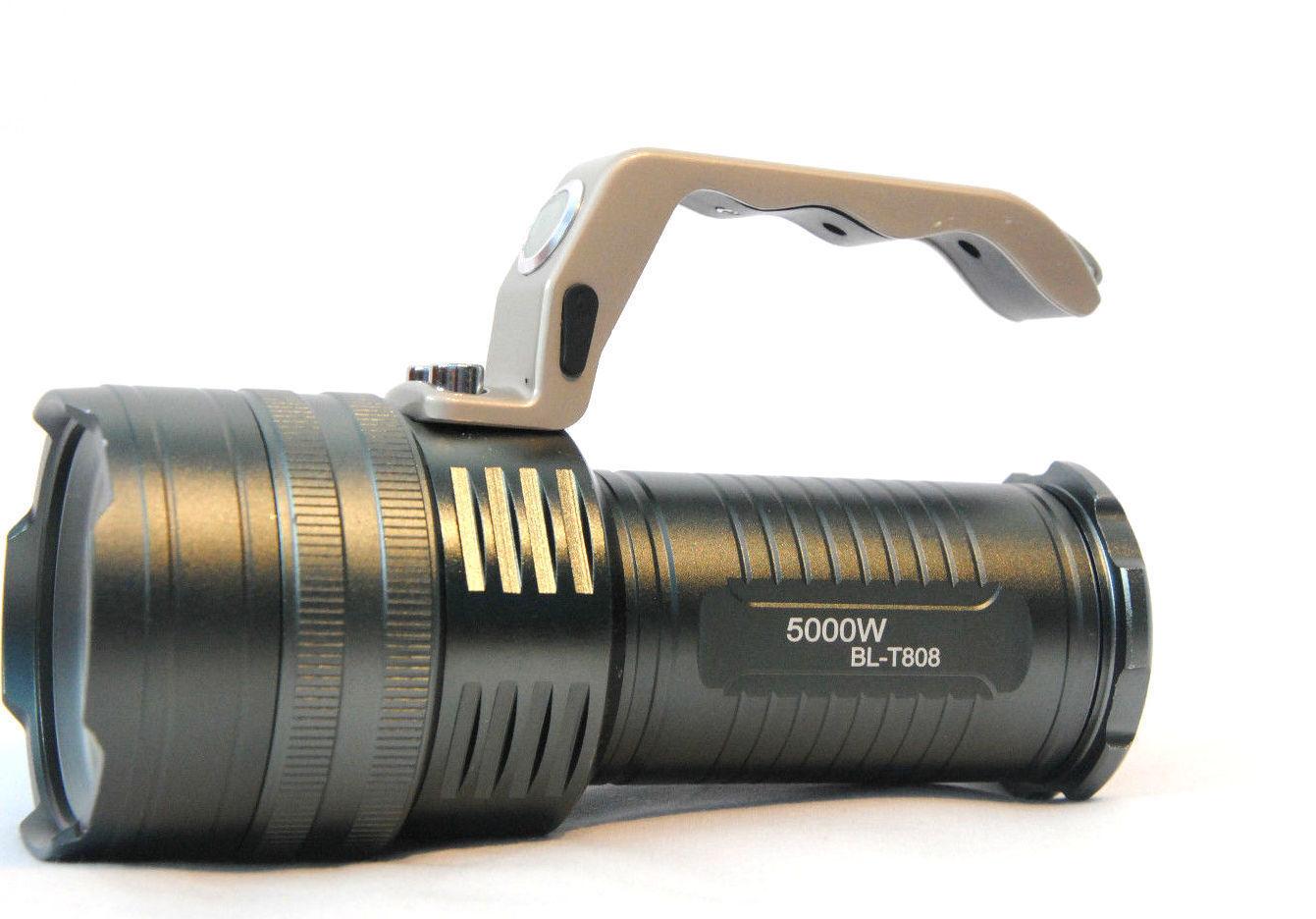 Extrem Helles BL-T808 CREE LED Handlampe T6     inkl. 3 Akku 8800mAh + Ladegerat 5c313d