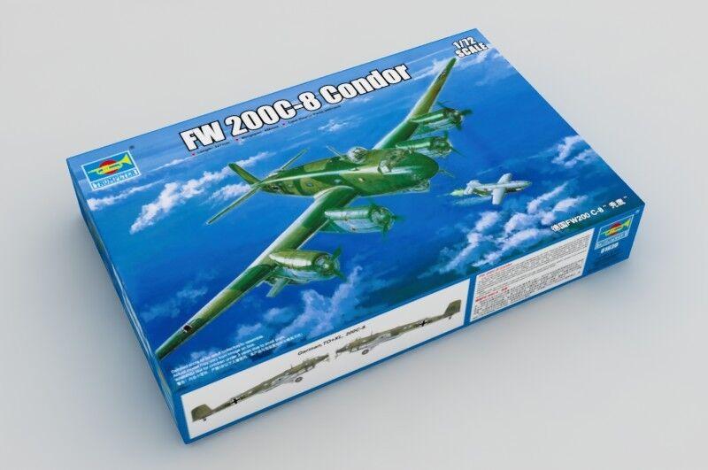 01639 Trumpeter 1 72 Static WarJet German FW 200C-8 Condor Aircraft Model DIY