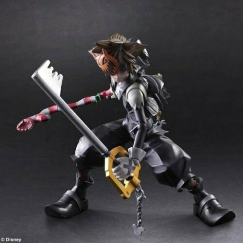 Square Enix redom Hearts II Htuttioween Town Sora Play Arts Kai azione cifra