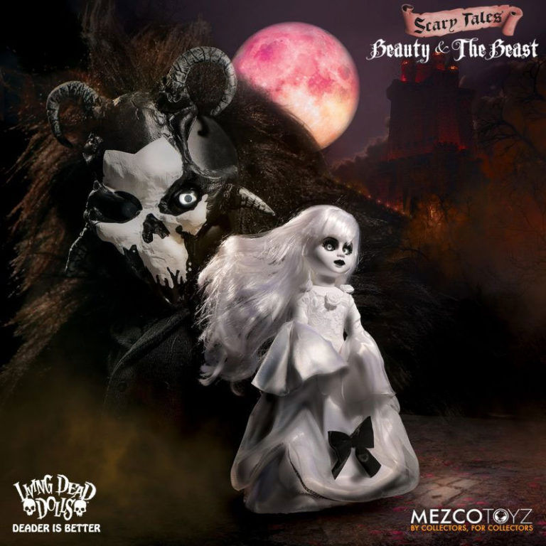 LIVING DEAD DOLLS  SCARY TALES – BEAUTY and the BEAST SET Dolls MEZCO TOYS