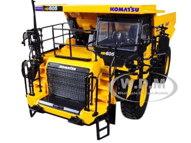 KOMATSU HD605-8 DUMP TRUCK 1/50 DIECAST MODEL BY FIRST GEAR 50-3387