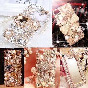 3D-Hard-Case-Cover-Handmade-Luxury-Bling-Jewelled-Rhinestone-Diamond-Crystal