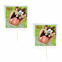 12 Looney Tunes Taz Lollipops Candy For Party Favors Made In The U.s.a
