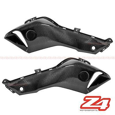 2x2 twill weave 2013-2016 Yamaha FZ07 MT07 Carbon Fiber Rear Tail Panel