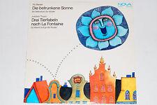 Tilo Medek / Joachim Thum -Die betrunkene Sonne / Drei Tierfabeln...- LP Nova