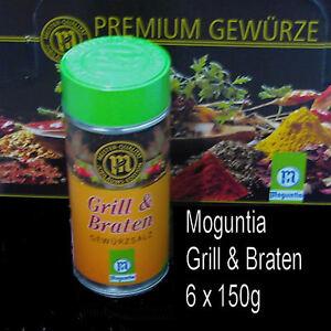 Moguntia-Grill-amp-Braten-Gewuerzsalz-6x-150g-Gewuerz-fuer-Kenner-und-Profis