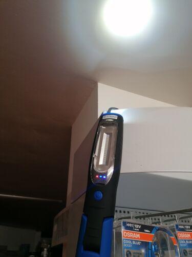 LAMPADA DI ISPEZIONE officina magnetica snodabile 15led osram 1HP PREMIUM