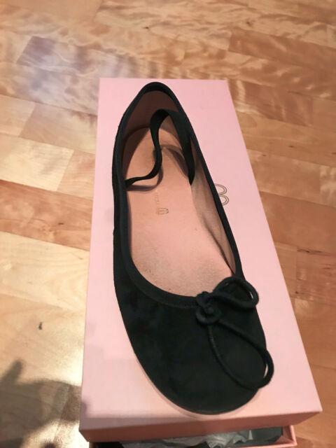 Pretty Ballerinas Angelis Horma Mädchen Größe 33 Negro Schwarz Kinder Ballerina