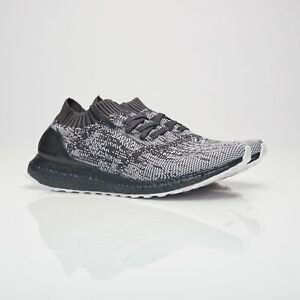 competitive price f40a0 2285e Image is loading Adidas-Ultraboost-Uncaged-Triple-Black-Grey-Glitch-Camo-