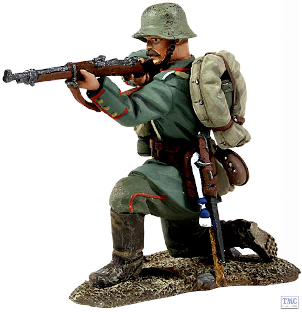 B23009 W.Britain 1916-18 German Infantry Kneeling Firing World War I