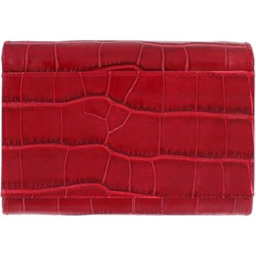 NWT Brighton MINGLE Red Cross Body Leather Medium Tech Wallet MSRP $155