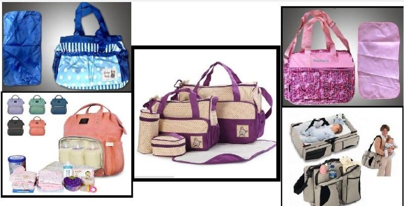 Brand New! Baby Nappy Bags, Various types, sizes and colours!