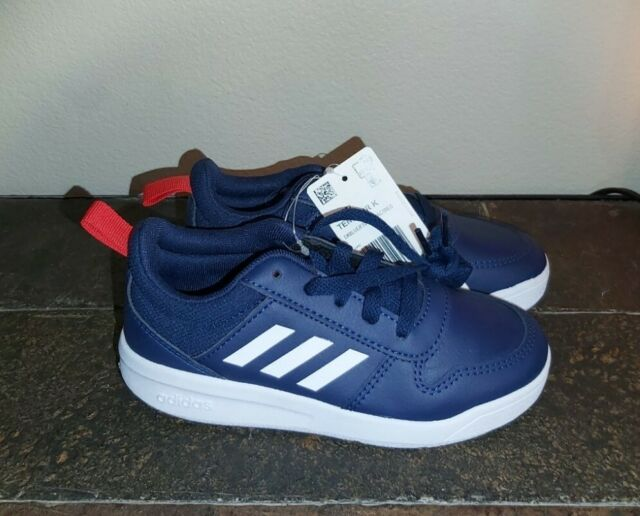 adidas Boys Tensaur Navy Blue Running Shoes EF1087 US Size 12k