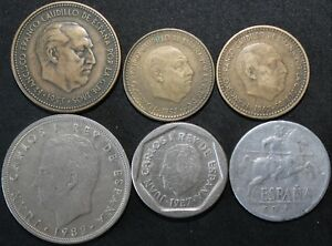 Mix-Of-Spain-Coins-Bulk-Coins-KM-Coins