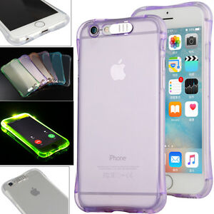 LED-Selfie-Light-Up-Latest-Style-Clear-TPU-Case-Coque-For-iPhone-HUAWEI-Samsung
