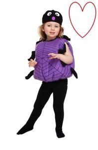 Vestiti Halloween Bambina 3 Anni.Dettagli Su Ragno Costume Halloween Costume Bug Bambini Costume Festa 3 Anni