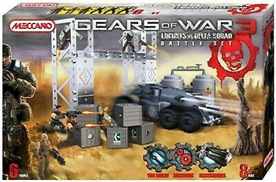 Gears Of War Locust Vs Delta Squad Battleset Metal Kit 850450 MECCANO