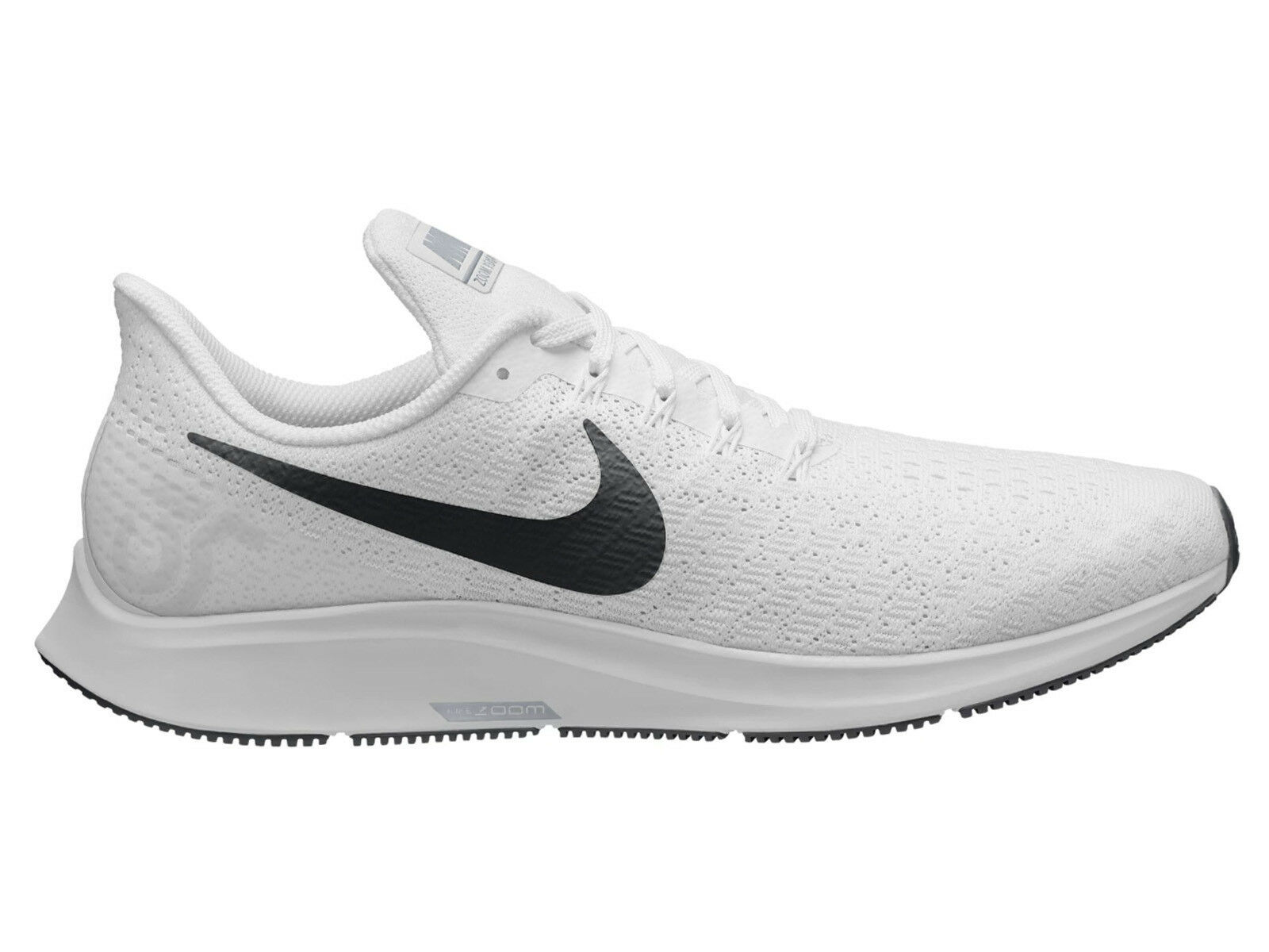 Men's Nike Air Zoom Pegasus 35 Running Shoes Trainers White/Black/Pure Platinum