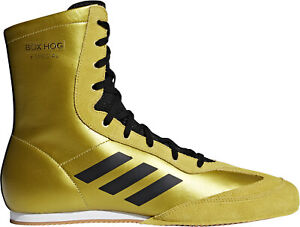 Details about adidas Box Hog X Special Mens Boxing Shoes Gold