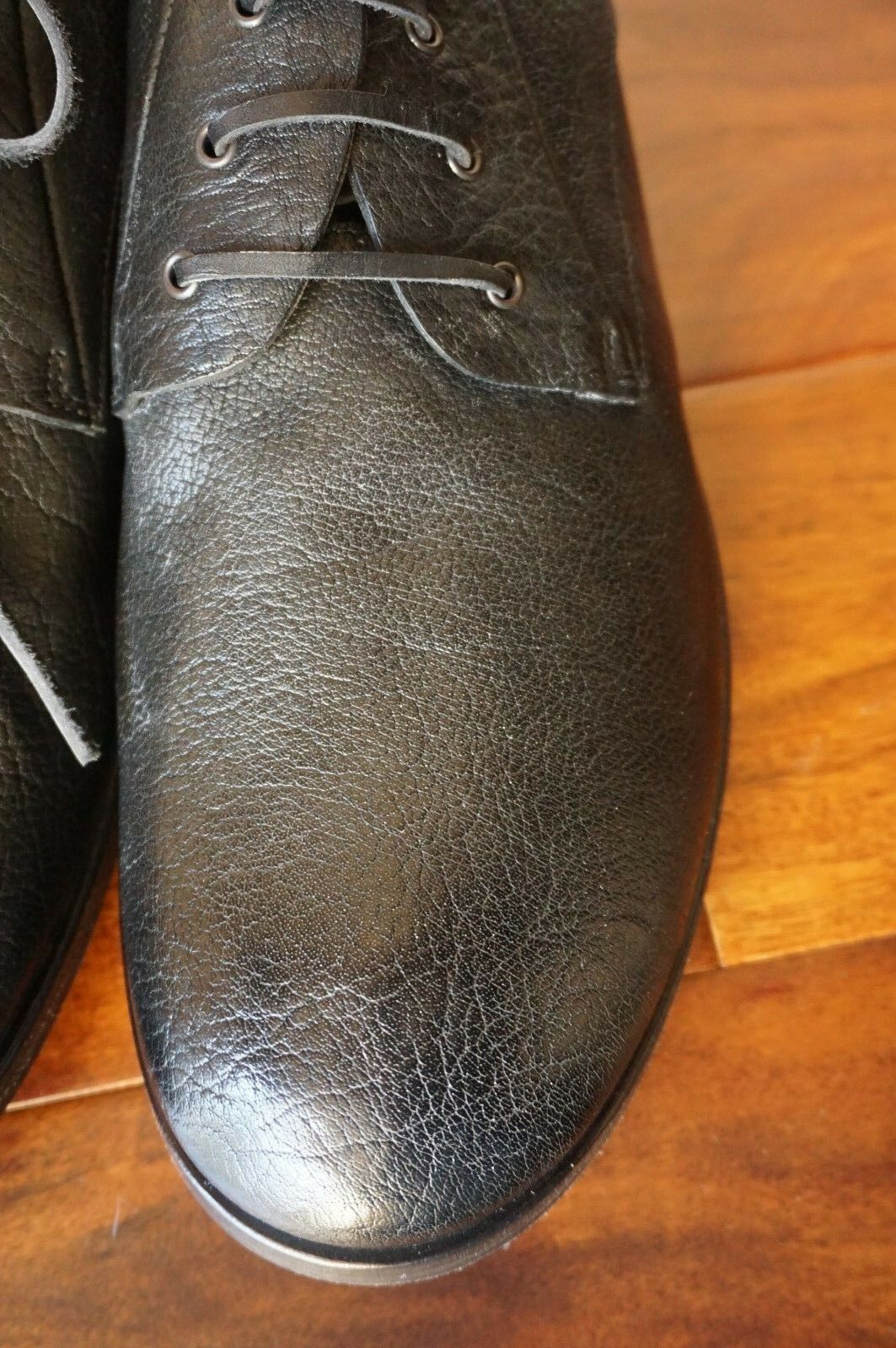 NEW WITH BAG   MARSELL 46 US SOFT 13 SOFT US BUFFALO schwarz OXFORD DERBY LEATHER  800 b4d486
