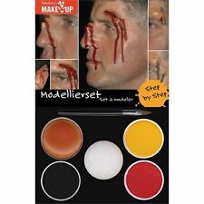 Modelling Make Up Kit Special Effects FX Halloween Costume Fake Cuts