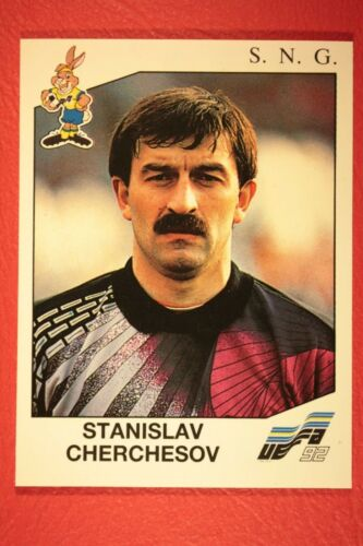 Panini EURO 92 N 169 S.N.G CHERCHESOV NEW WITH BLACK BACK TOP MINT!!