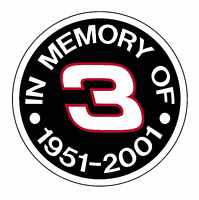 Dale Earnhardt Sr 3 Vinyl Decal / Sticker Nascar M2