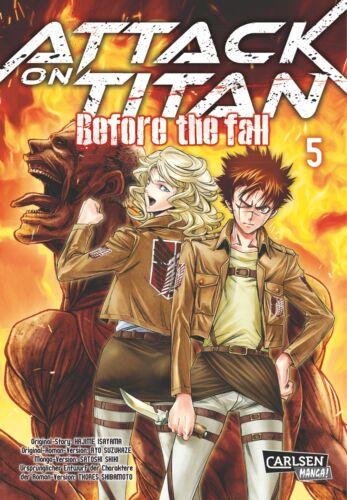 NEUWARE Carlsen Manga Deutsch Attack on Titan: Before the Fall 5