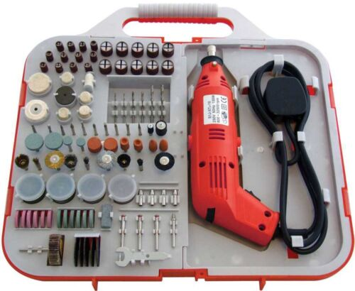 Amtech 162pce Mini Drill and Rotary Accessory Set Kit F2830