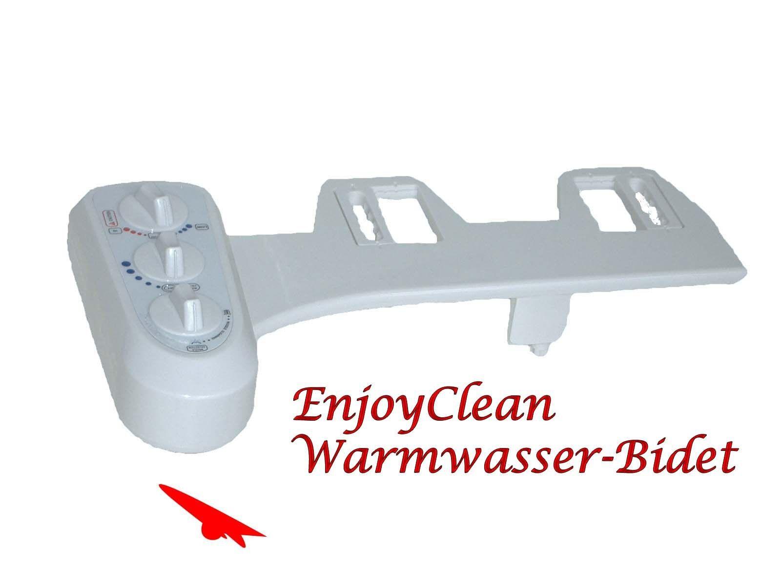 EnjoyClean Deluxe Warmwasserbidet Bidet Dusch WC Intimhygiene