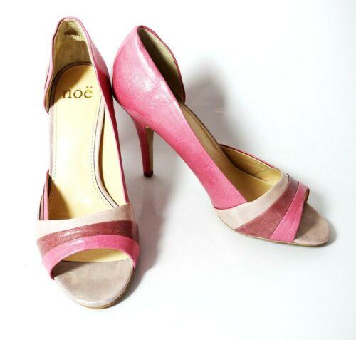 NOE Talon Haut Femmes Peep Toe Chaussures UK 6//EUR 39