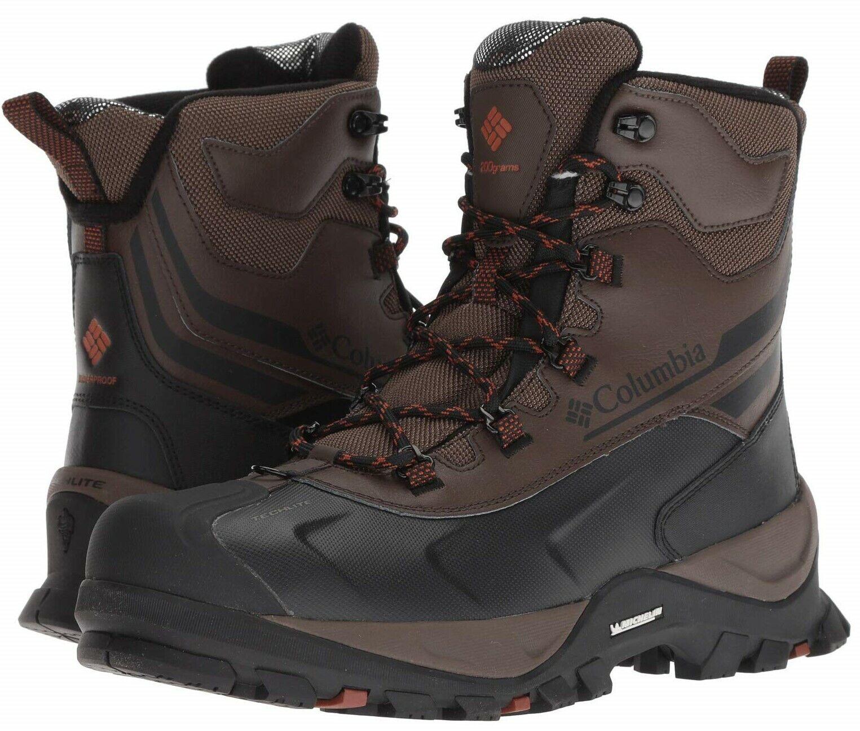 Columbia Bugaboot Plus IV Omni-Heat Men's Boots Hiking Waterproof Winter WIDE