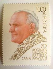 POLAND-STAMPS MNH Fi3117 Sc2966 Mi3265 - Pope John Paul II - 1990, clean