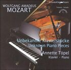 Mozart: Unknown Piano Pieces (CD, Jul-2006, Musicaphon)