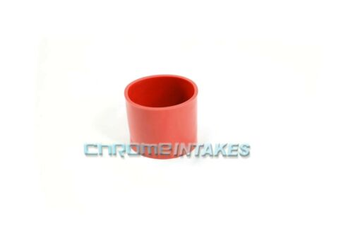 """RED 2.75/""""-2.75/"""" AIR INTAKE//PIPING RUBBER COUPLER FOR SUBARU//SCION"""