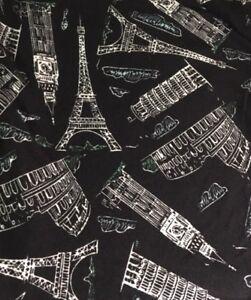 LuLaRoe Leggings ~ OS ~ BLACK & WHITE LANDMARK BUILDINGS ...