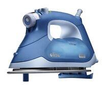 Oliso 1600w Itouch Technology Anti-drip /auto Shut Off Blue Smart Iron Tg1050