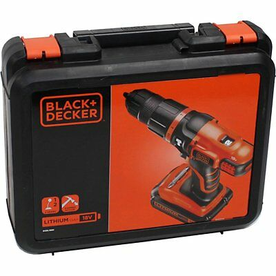 Black /& Decker EGBL188K 18V Lithium 2 Gear Hammer Drill