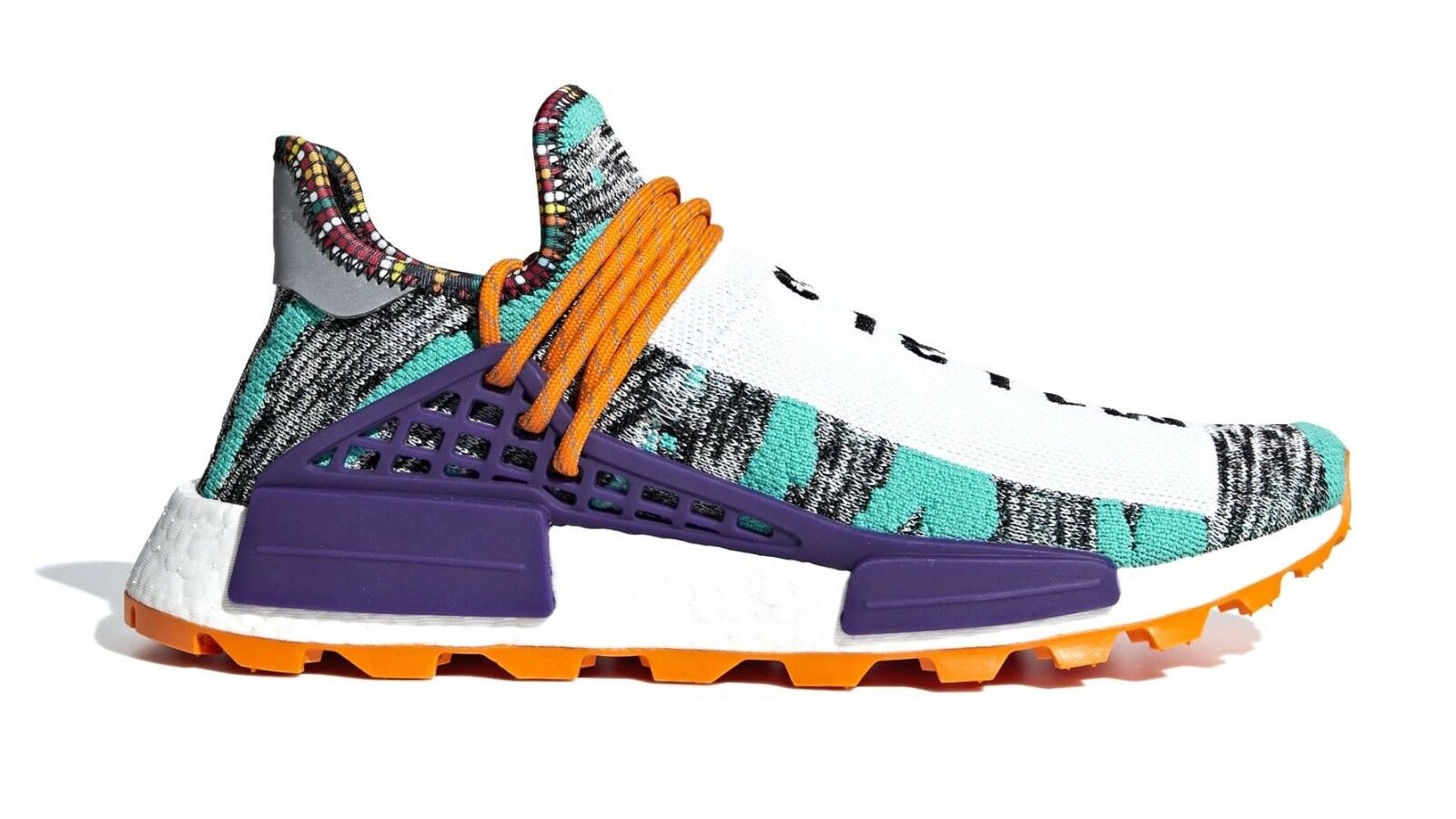 Men's Adidas Pharrell William NMD Human Race  Solar Pack  Fashion Casual BB9528