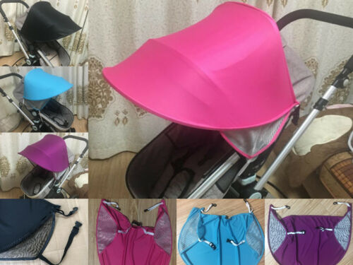 Sun Shade Sun Canopy For Baby Buggy//Stroller//Pram Pushchair Car Seat UV UPF50