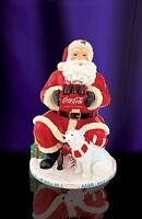 Christopher Radko - Coca Cola Cookie Jar - Santa and Polar Bear - Coke - 2011892