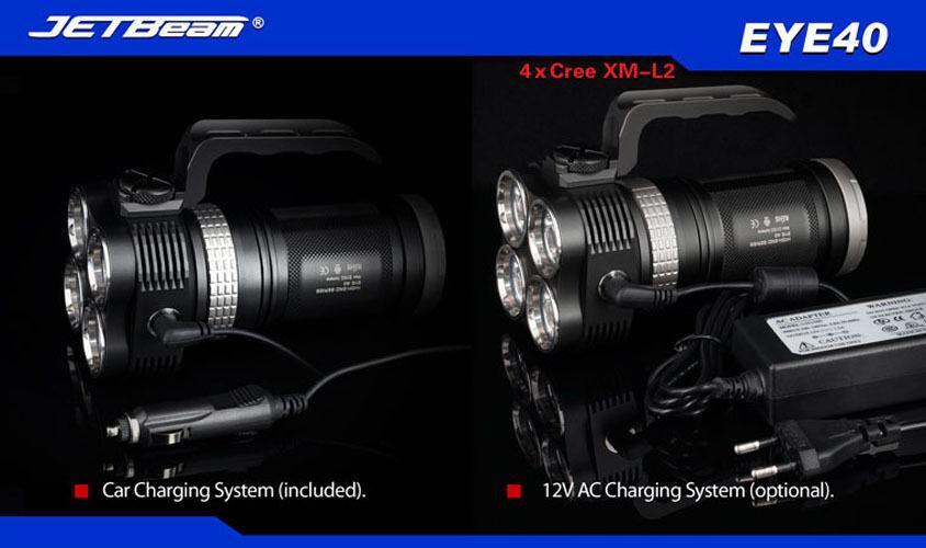 Niteye LED EYE40 3150Lm Rechargable Flashlight -XM-L2 T6 LED Niteye 591263