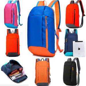 Sports Backpack Hiking Rucksack Men Women Unisex Schoolbags Satchel Bag Handbag