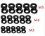 10-Stueck-Packung-Unterlegscheiben-fuer-Senkkopf-Schrauben-M3-M4-M5-mijn Indexbild 3