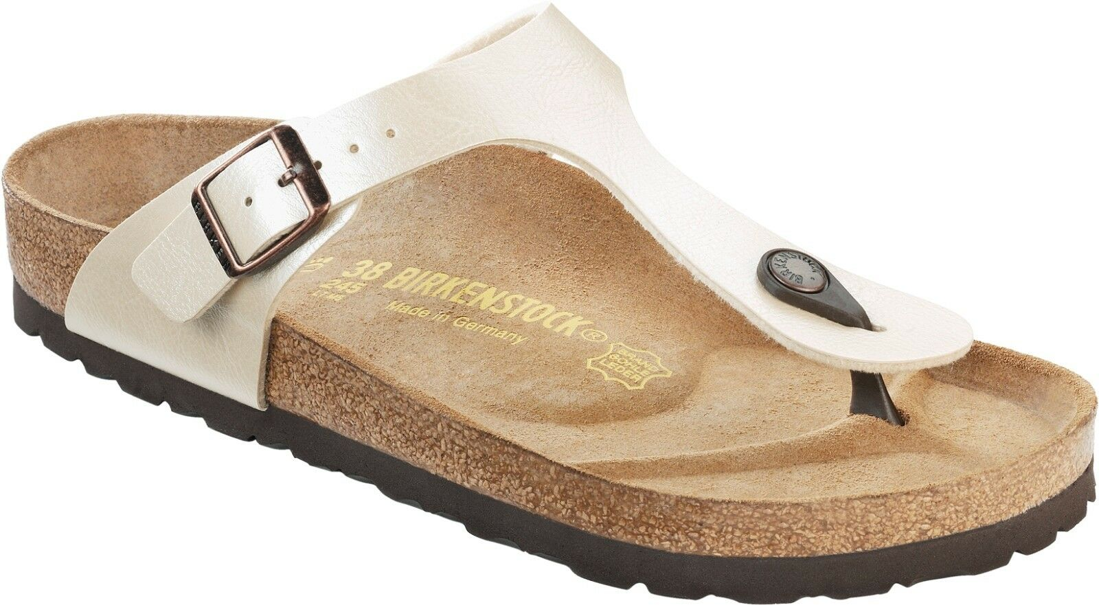 Birkenstock Gizeh Zehentrenner Graceful Antique Fußbett Lace 35-43 normales Fußbett Antique d4b563