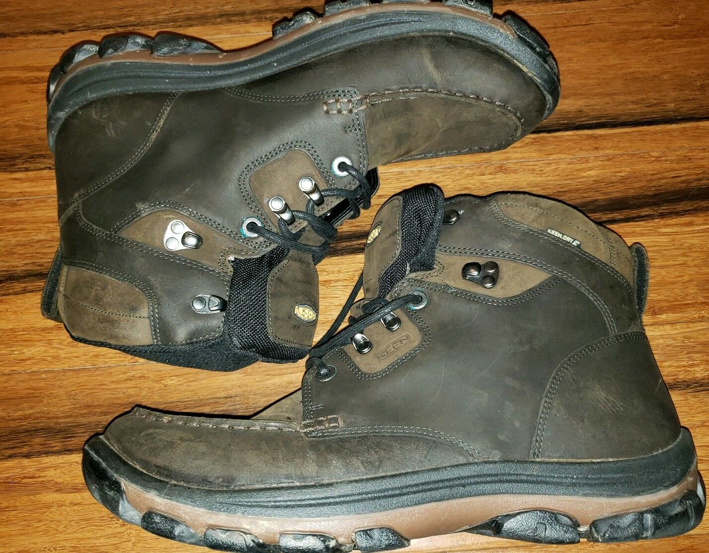 Keen Uomo Nopo Waterproof Hiking avvio avvio avvio Keen Dry Uomo Sz 12 Marrone  170 0ee44e