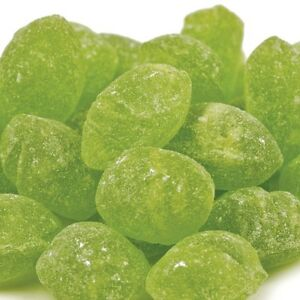 Details about Claey's Sanded Sugar Hard Candy Green Apple Drops 2 LBS