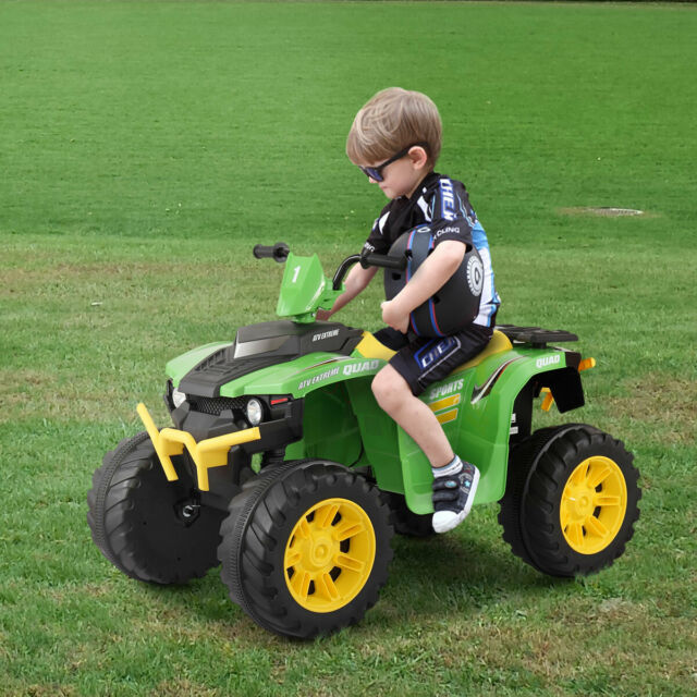 12V Kid Ride On ATV Four-wheel Cross-country Electric
