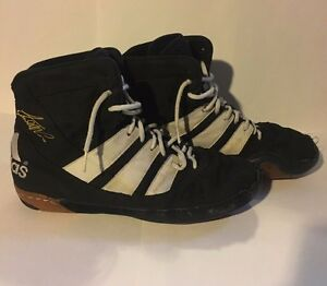 Adidas Kendall Cross Adistar Wrestling Shoes Size 8 -Black And ...