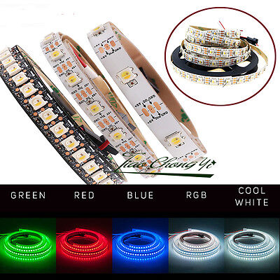 4 in 1 RGBW LED strip light Addressable 5V 30//60led//m SK6812 similar ws2812b